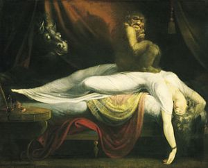 Mareritt John_Henry_Fuseli_-_The_Nightmare